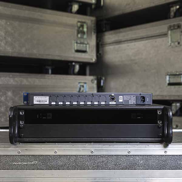 Luminex Ethernet DMX8 MkII rear