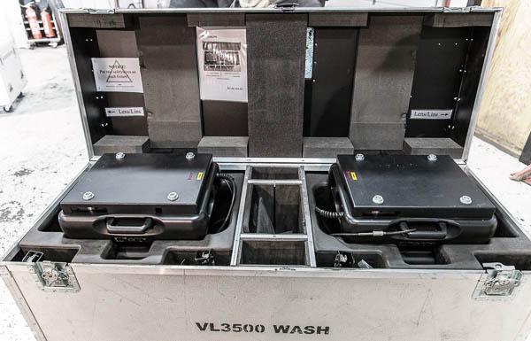 Used VL3500 Wash Case
